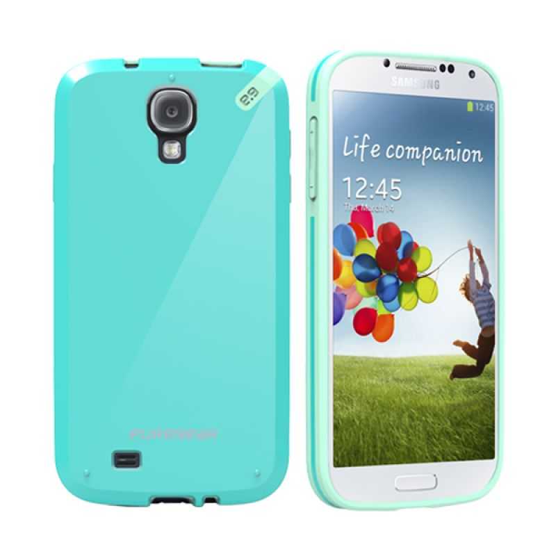 Puregear Slimshell Pistachio Mint Casing for Galaxy S4