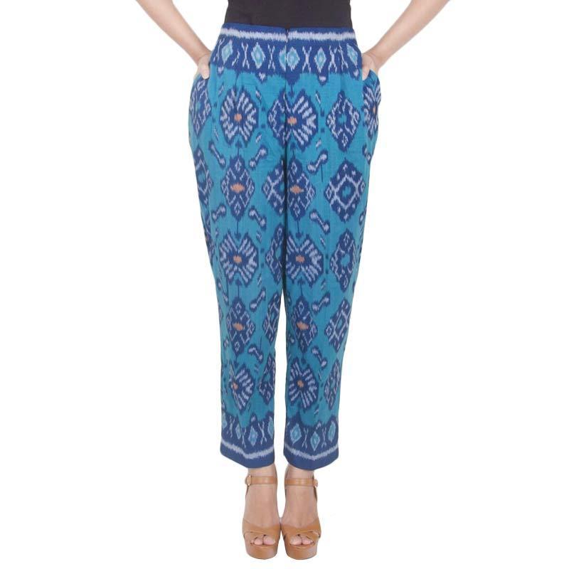 Madha Tenun Ikat Blue Pants