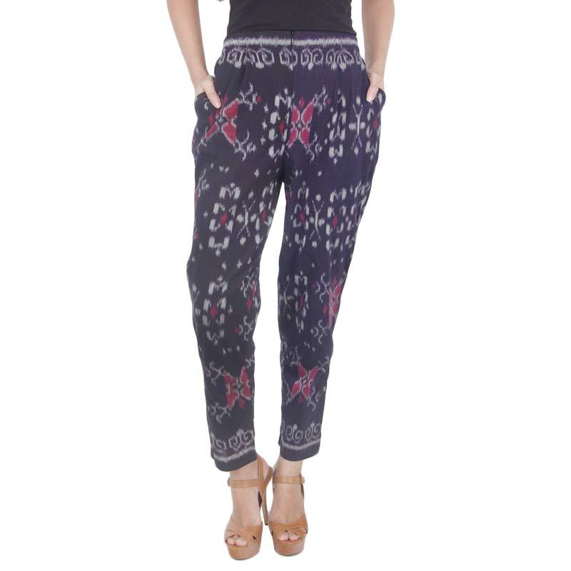 Madha Tenun Ikat Dark Purple Pants