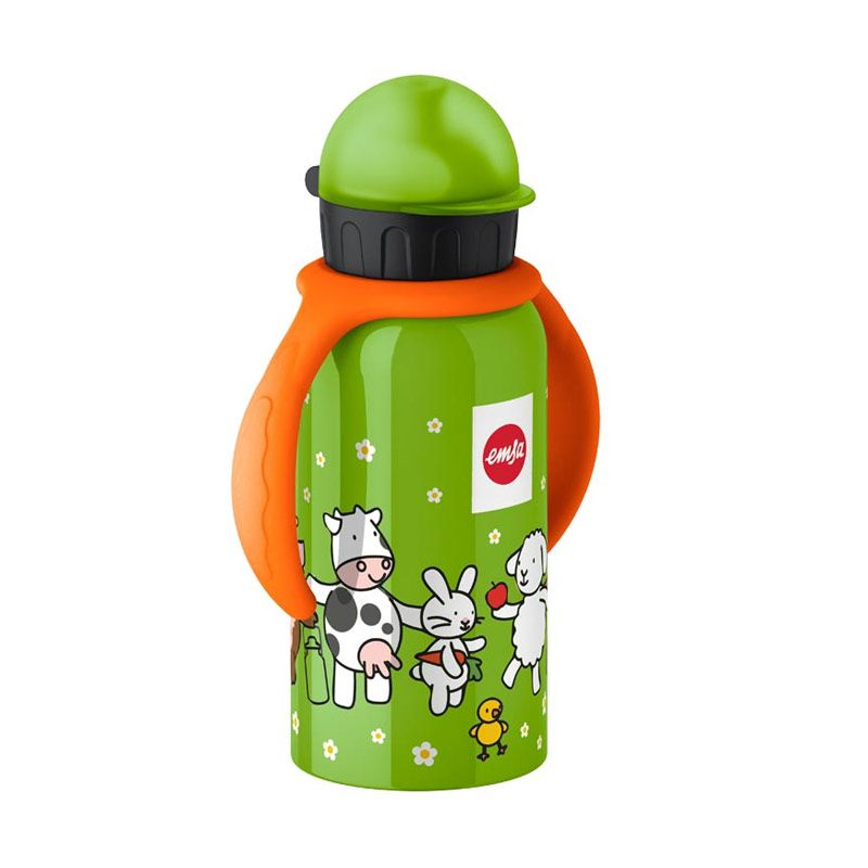 EMSA Drinking Flask With Arms Farm Family Botol Minum