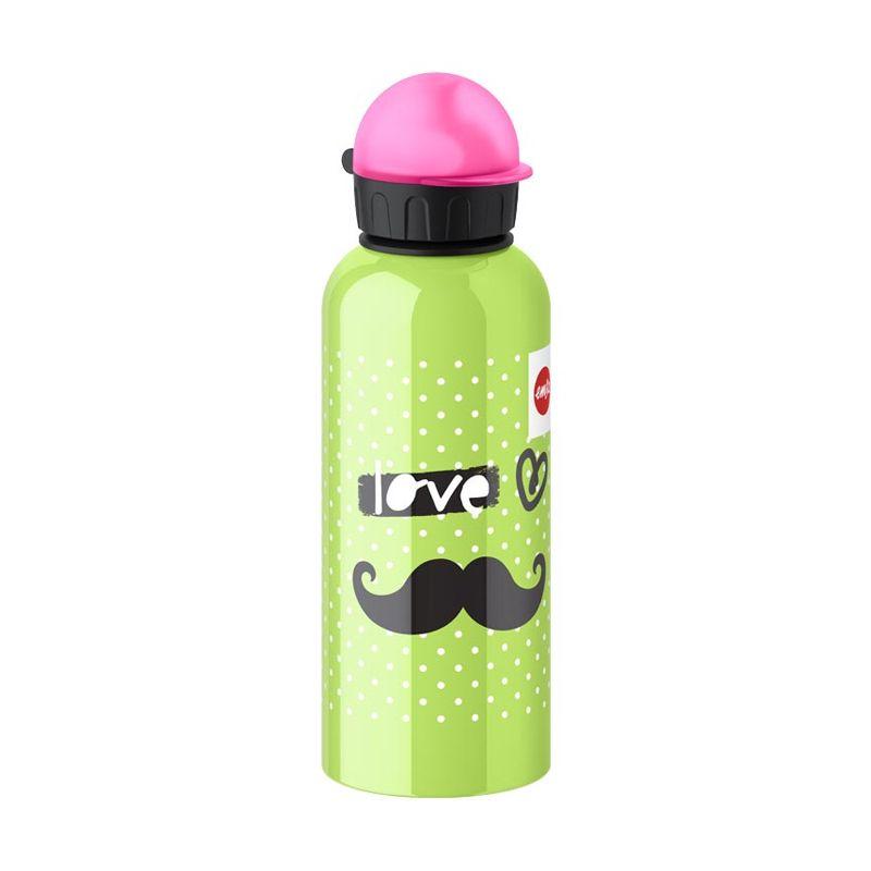 EMSA Drinking Teens Flask Moustache Botol Minum