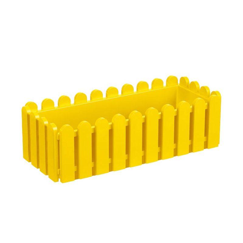 EMSA Landhaus Window Box Yellow Pot Tanaman [50 Cm]