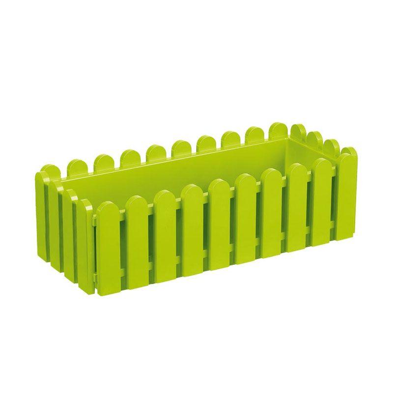 EMSA Landhaus Window Box Green Pot Tanaman [50 Cm]