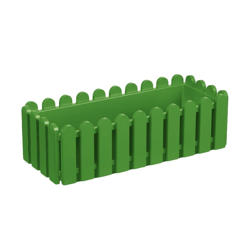 EMSA Landhaus Window Box Green Pot Tanaman [75 Cm]