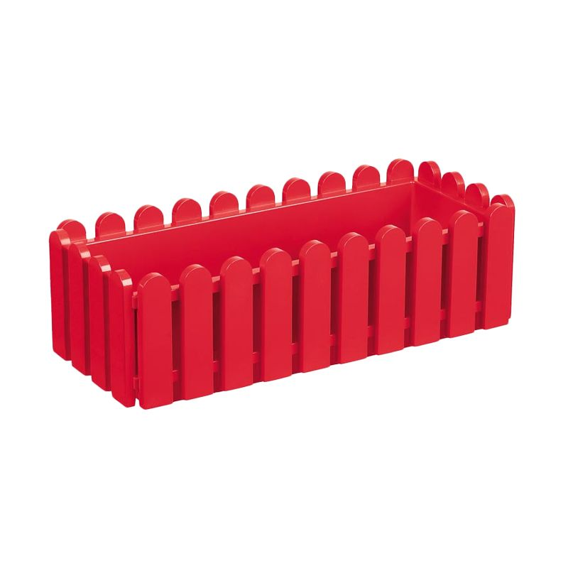 EMSA Landhaus Window Box Red Pot Tanaman [75 Cm]