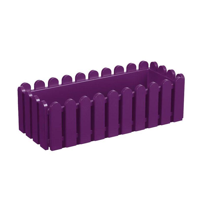 EMSA Landhaus Window Box Violet Pot Tanaman [50 Cm]