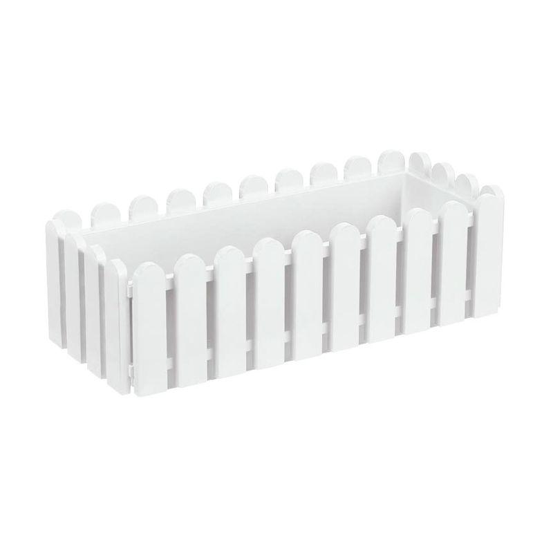 EMSA Landhaus Window Box White Pot Tanaman [75 Cm]