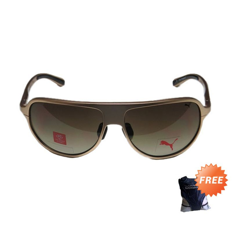 Puma 15153 GD Gold Sunglasses