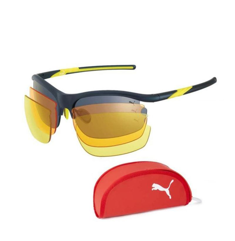 Puma Sport Sunglasses 15174 Navy-Blue