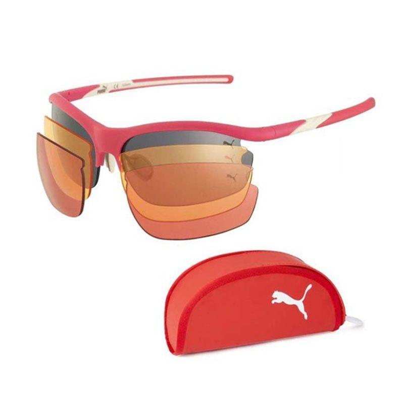 Puma Sport Sunglasses 15174 Pink-White