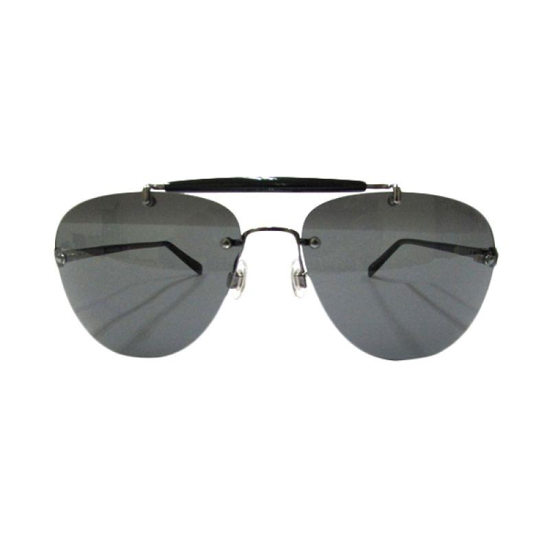 Trussardi Aviator TR 12941 Black Sunglasses