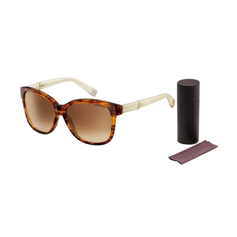 Trussardi Sunglasses 12843 Light Brown