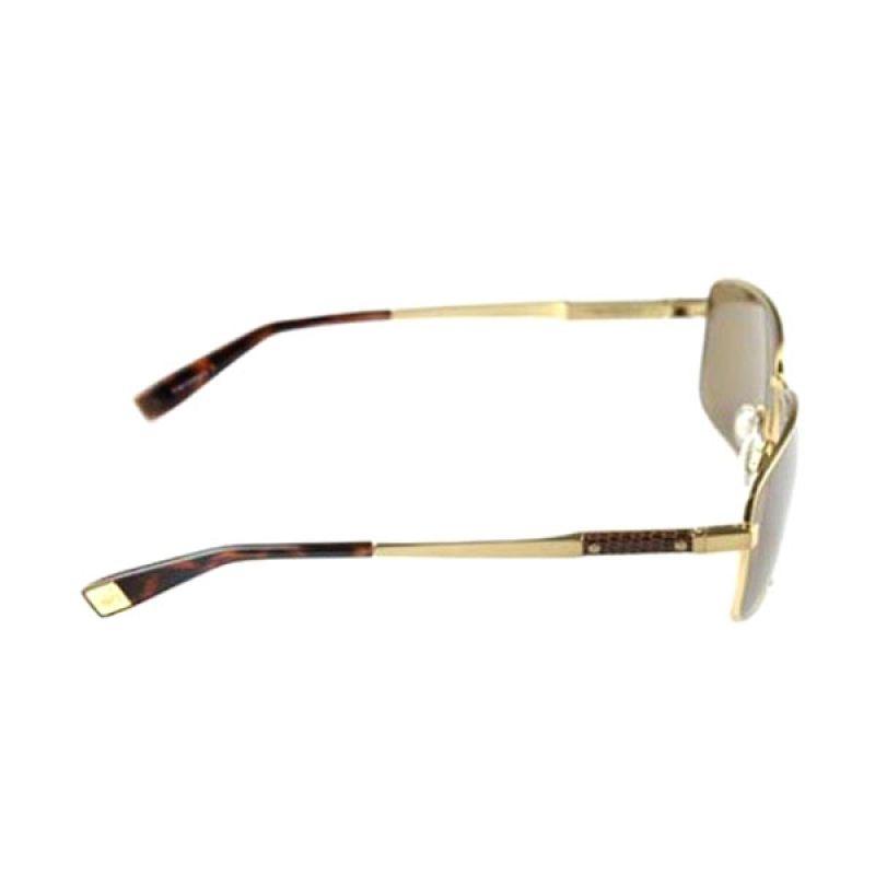Trussardi Sunglasses 12934 Gold Kacamata Pria