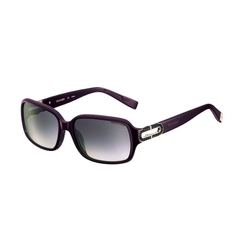 Trussardi TR 12845 PU Purple Sunglasses Kacamata