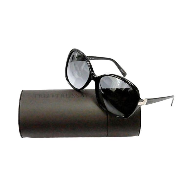 Trussardi Womens Butterfly TR12849 BK Black Sunglasses Kacamata