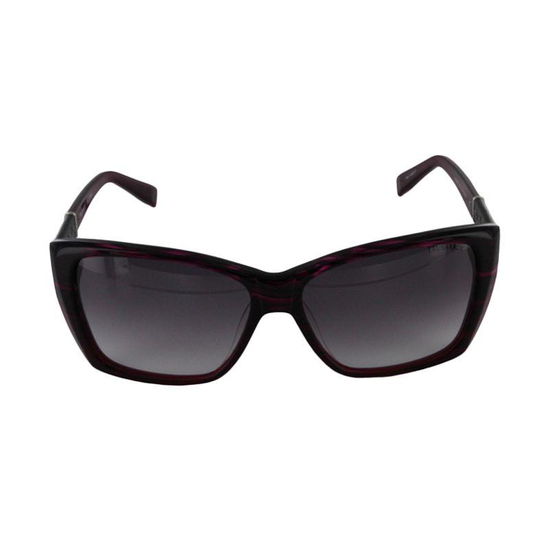 Trussardi Womens TR 12842 PU Purple Sunglasses Kacamata