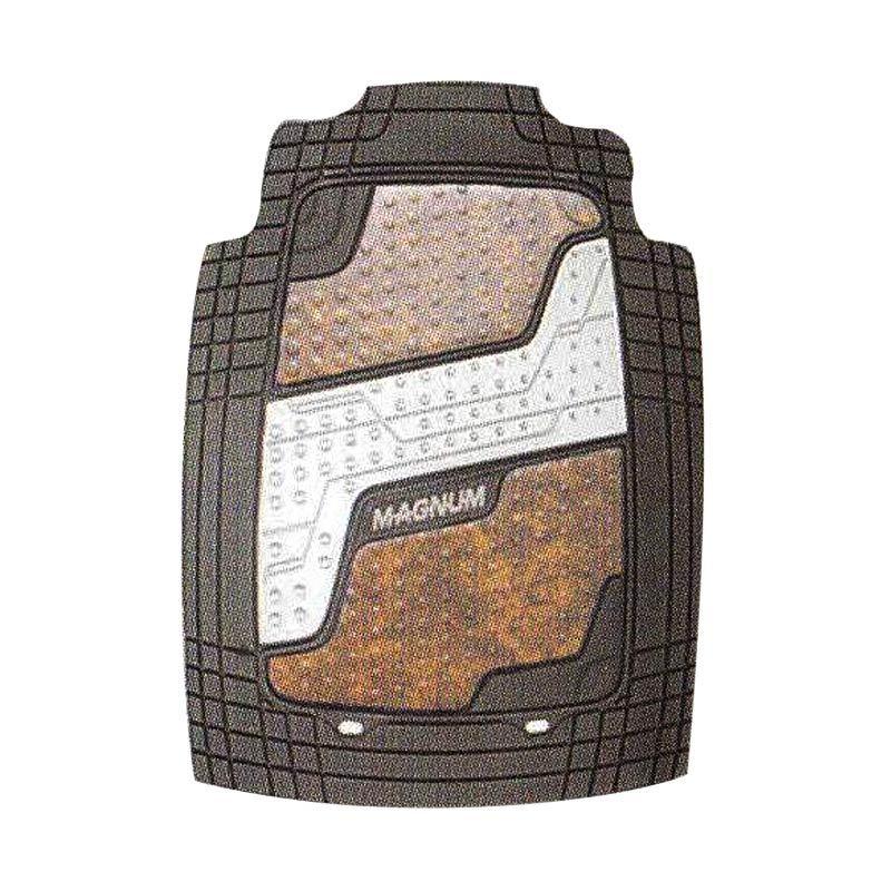 RESELLER PRICE (4 SET) - Magnum M 638 - 5B Hitam Set Karpet Mobil