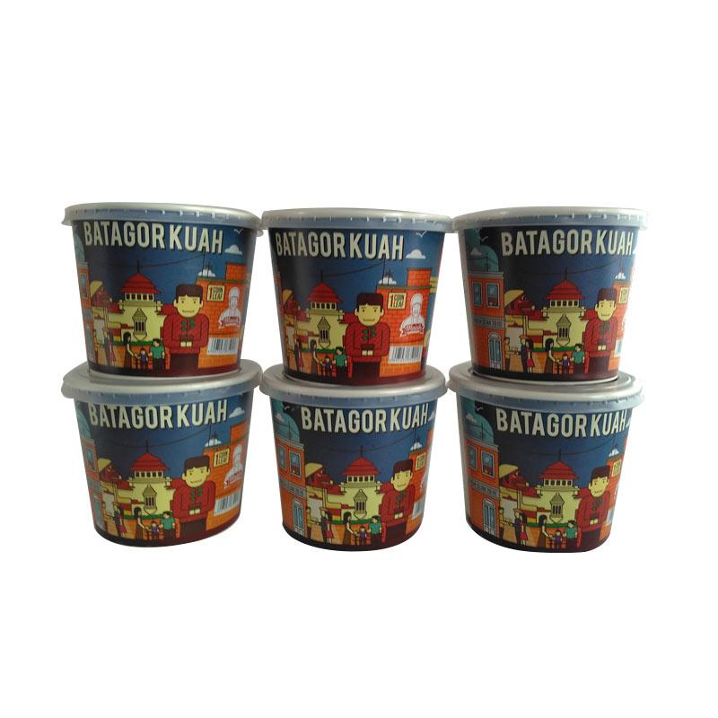 Maicih 3 Varian Pedas Batagor Kuah Camilan [6 cup/Level 3/5/10]