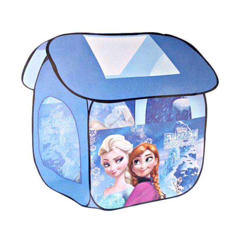 MAO Rumah Frozen Besar Biru Tenda Anak