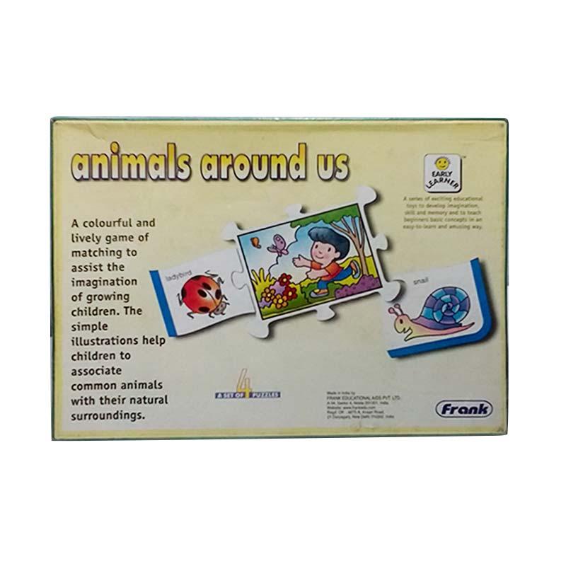 Mainan Edukasi Animal Around Us Puzzle