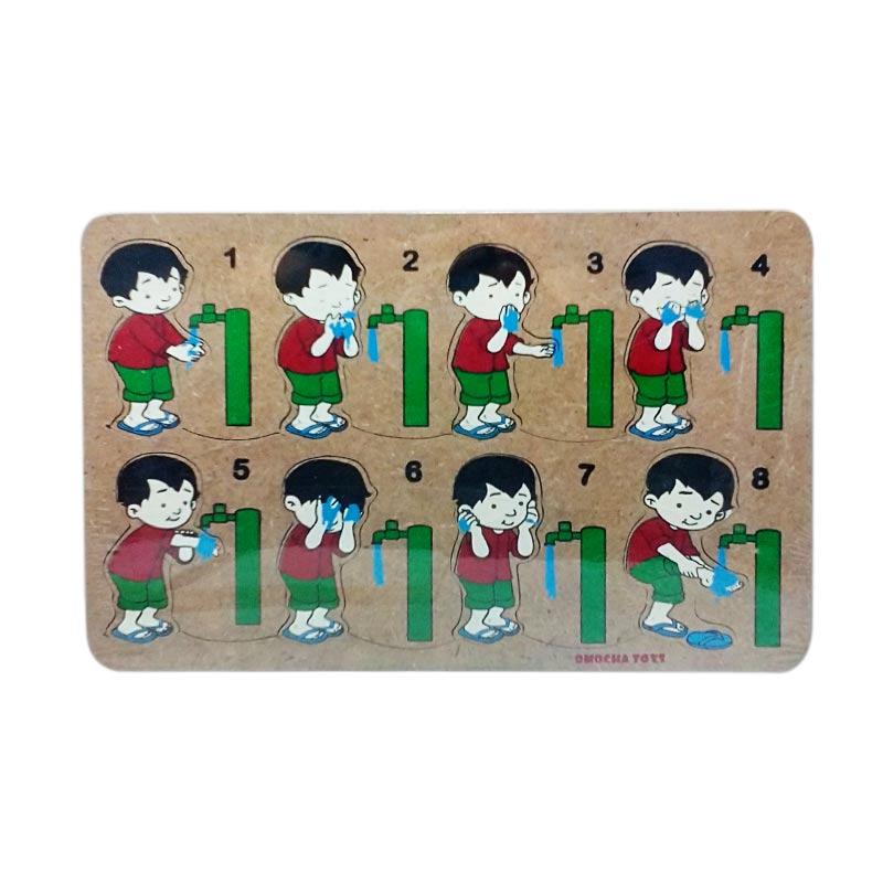 Mainan Edukasi Laki-Laki Wudhu Puzzle Game