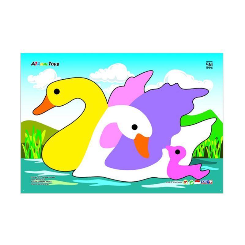 Kidzntoys Puzzle Gambar Angsa Mainan Edukasi Anak