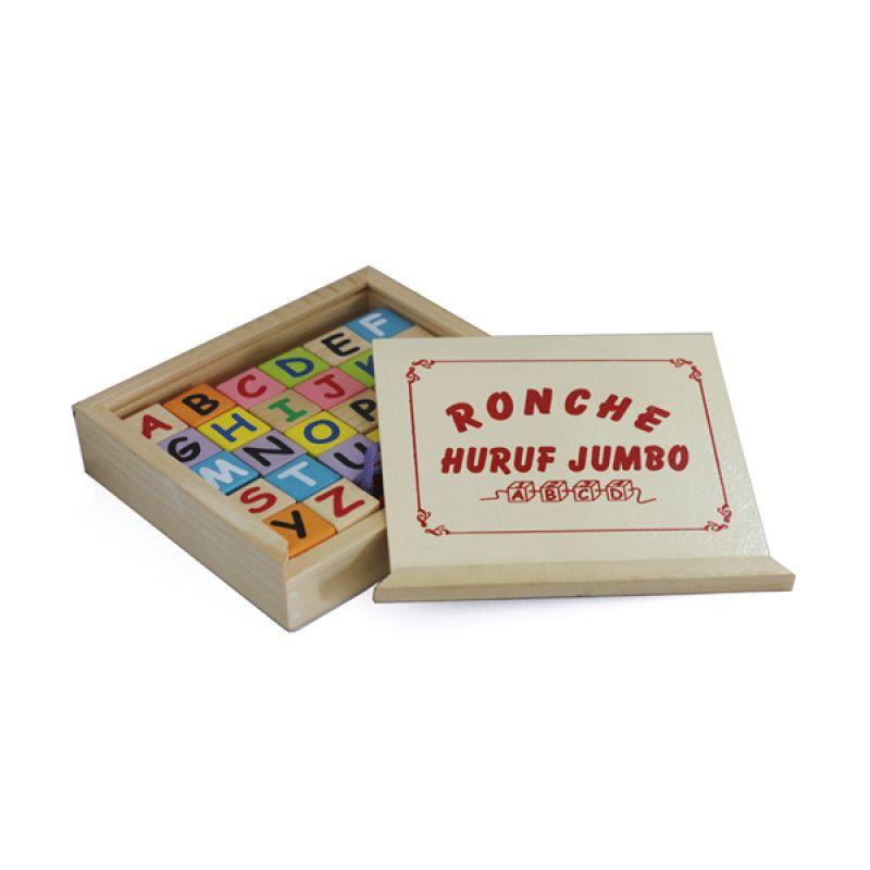 Kidzntoys Ronche Abjad Jumbo Multicolor Mainan Edukasi Anak