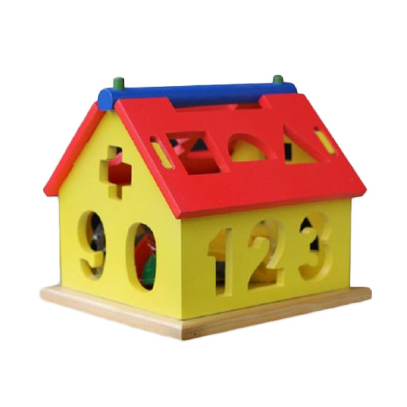Kidzntoys Rumah Angka Besar Mainan Edukasi Anak