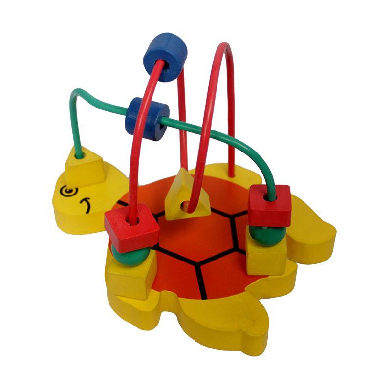 Atham toys Alur Kawat 2 karakter Kecil kura kura Mainan Anak