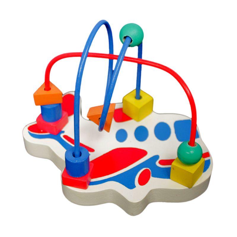 Atham toys Alur Kawat Karakter Kecil Pesawat Mainan Anak