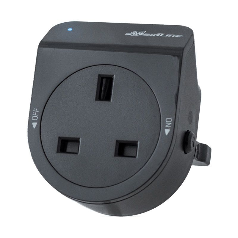 Mainline Black Premium UK Socket (3 pin)