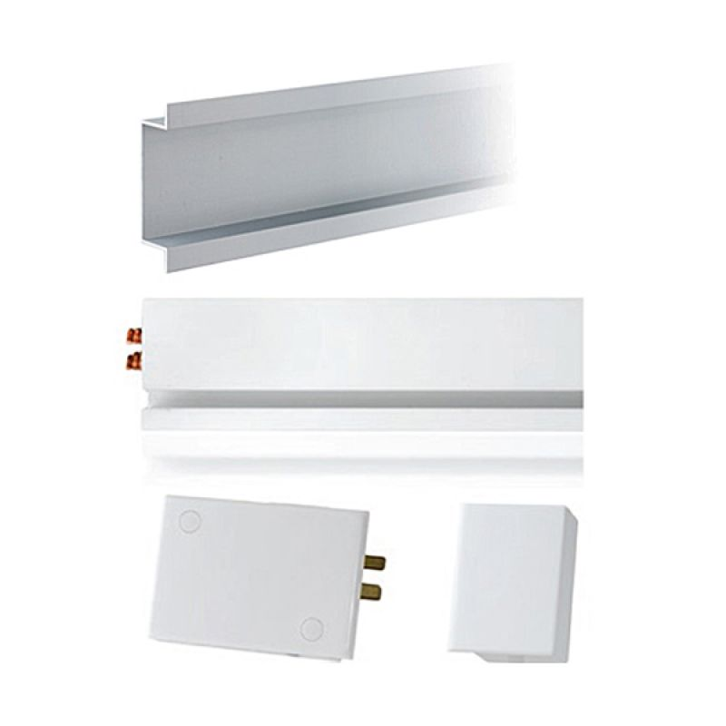 Mainline Kit White Left Terminal Block w/ Flush Mount Housing