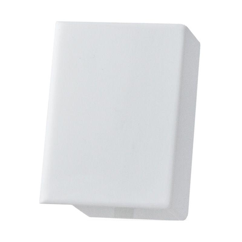 Mainline White Left/Right End Cap