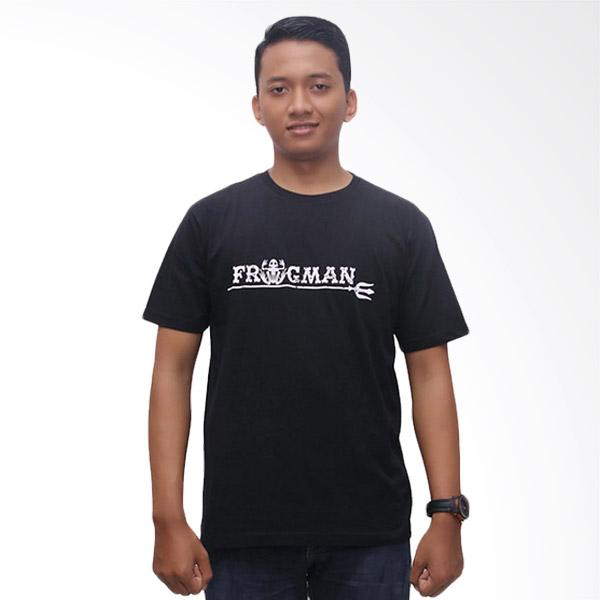 MTN T-shirt Frogman T-shirt - Black Extra diskon 7% setiap hari Extra diskon 5% setiap hari Citibank – lebih hemat 10%
