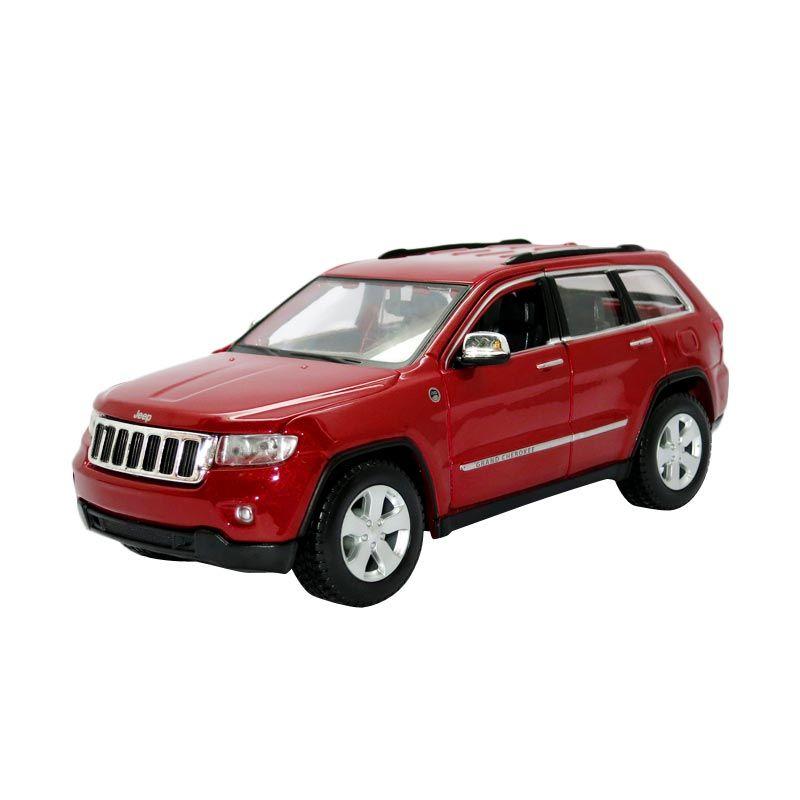 Maisto - 1:24 Jeep Grand Cherokee Laredo - Red