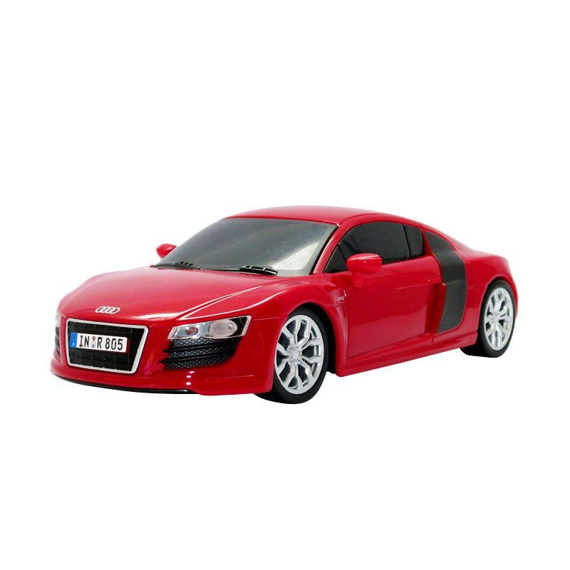 harga Maisto - 1:24 R/C 2009 Audi R8 V10 - Red Blibli.com