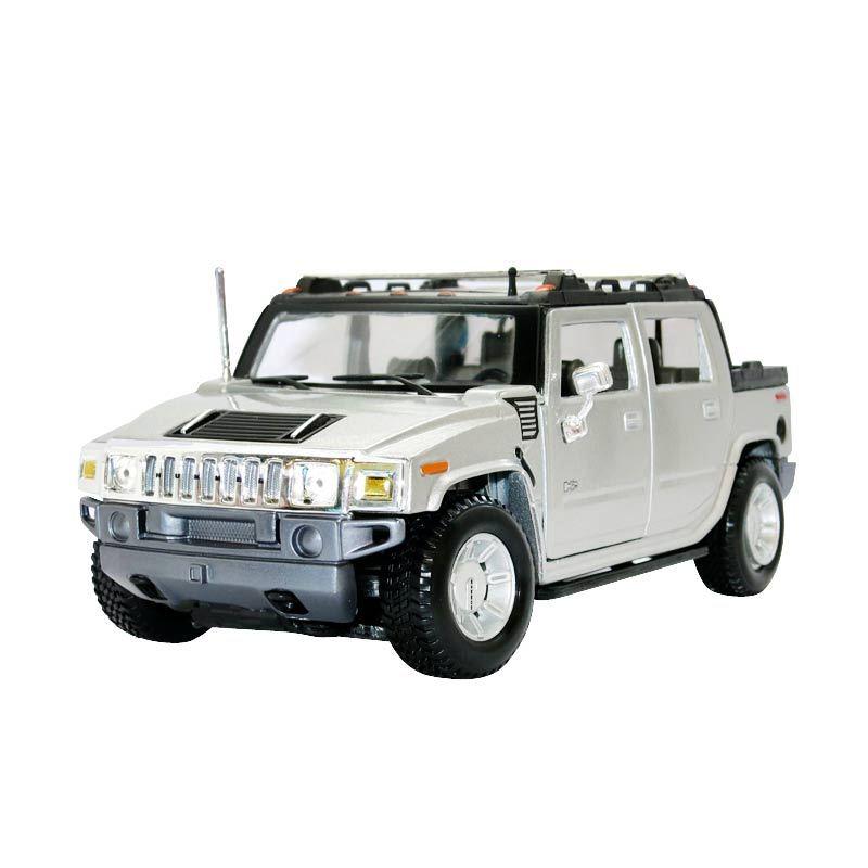 Maisto - 1:27 2001 Hummer H2 SUT Concept - Brown - Silver