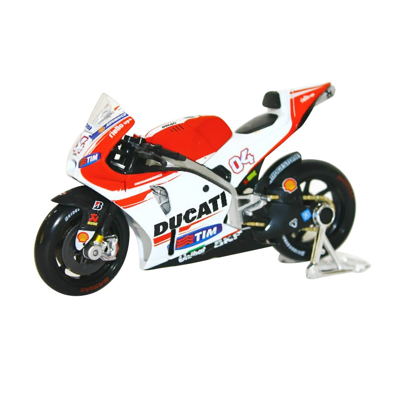 harga Maisto Ducati Desmosedici MotoGP 2015 - Andrea Dovizioso Diecast [1:18] Blibli.com
