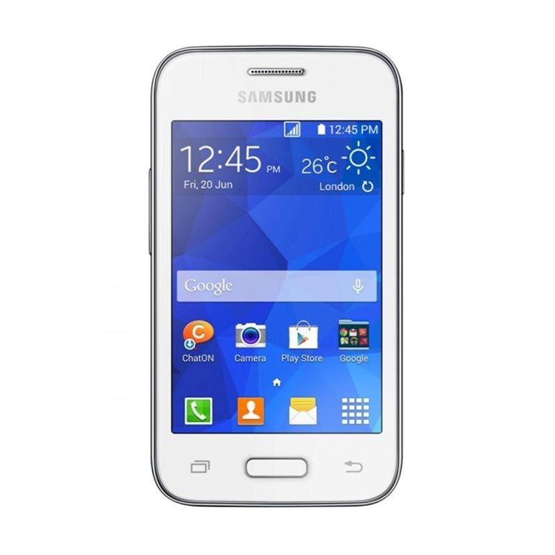 Samsung Galaxy Young G130H Putih Smartphone [4 GB]