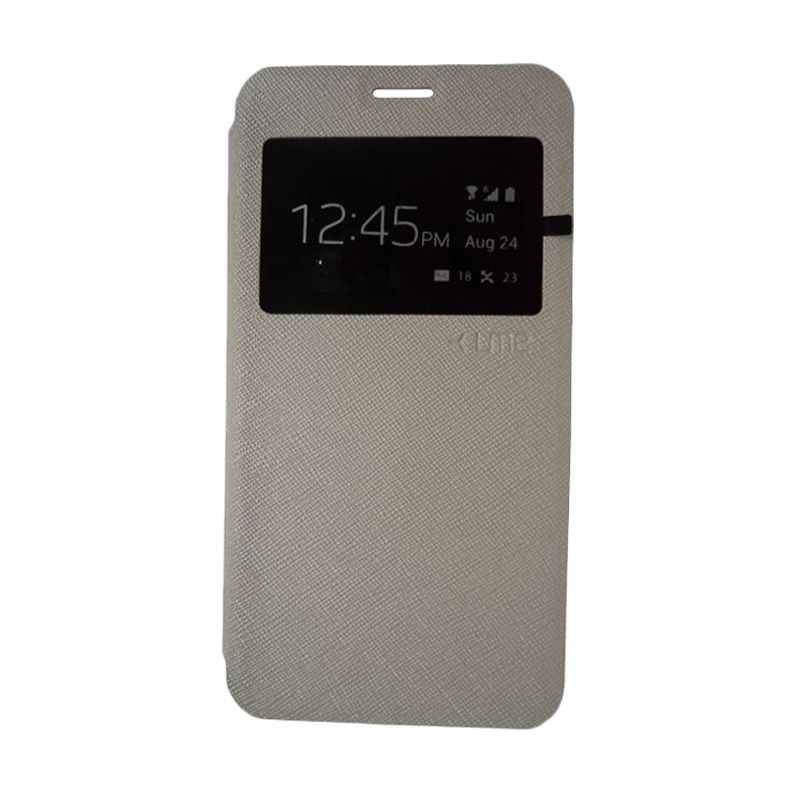 Ume View Grey Flip Cover Casing for Galaxy Prime G530H