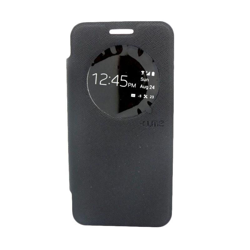 Ume Premium Leather Hitam Casing for Samsung I9060i Grand Neo Plus
