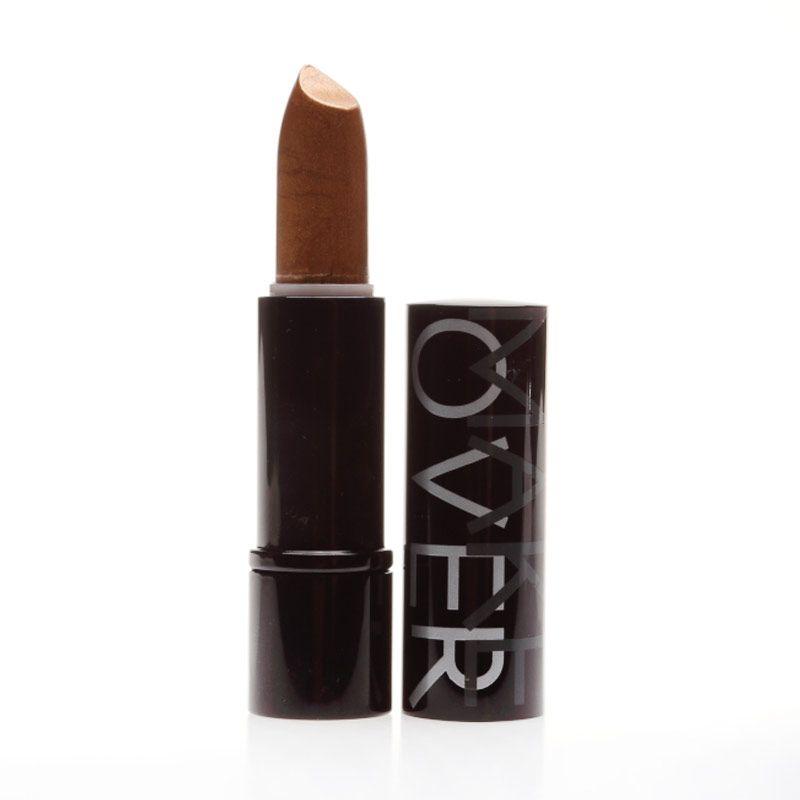 Make Over Glitter Lipstick Bronze