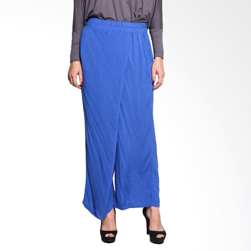 MalanaINDONESIA Long Pants Ilma IPB/BL/MI/9/15 Blue Bawahan Muslim Wanita