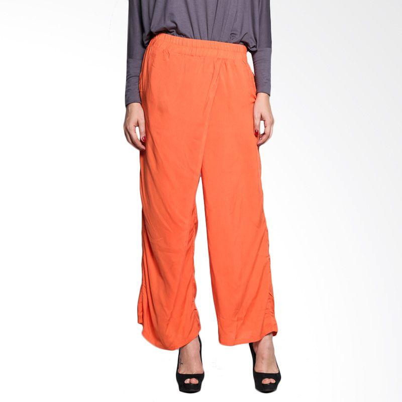 MalanaINDONESIA Ilma Pants IPO/BL/MI/9/15 Orange Bawahan Muslim Wanita