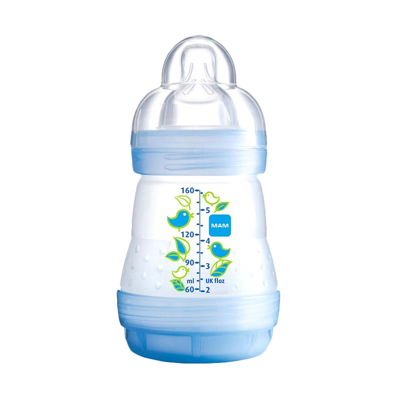 MAM Anti Colic Bottle 160ml - Blue