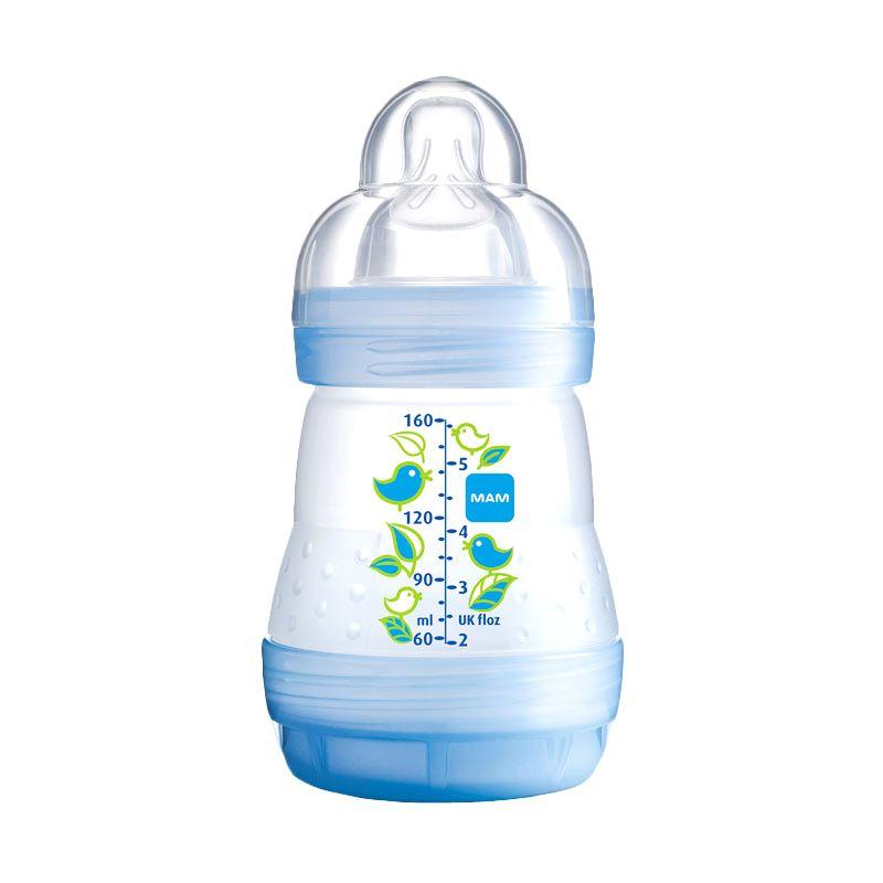 MAM Anti Colic Bottle Blue Botol Susu [160 mL]