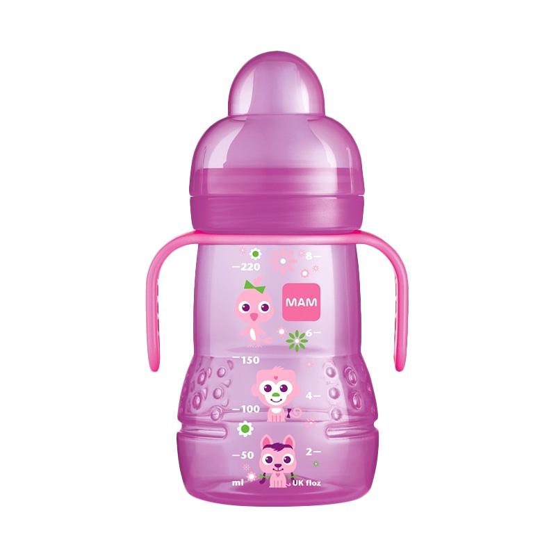 Mam Trainer Cup Alat Makan Bayi - Pink [220 mL]