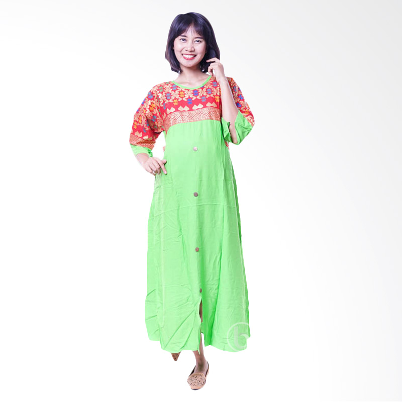 Jual Mama Hamil Batik Sonket Cantik Baju Hamil Gamis Hamil