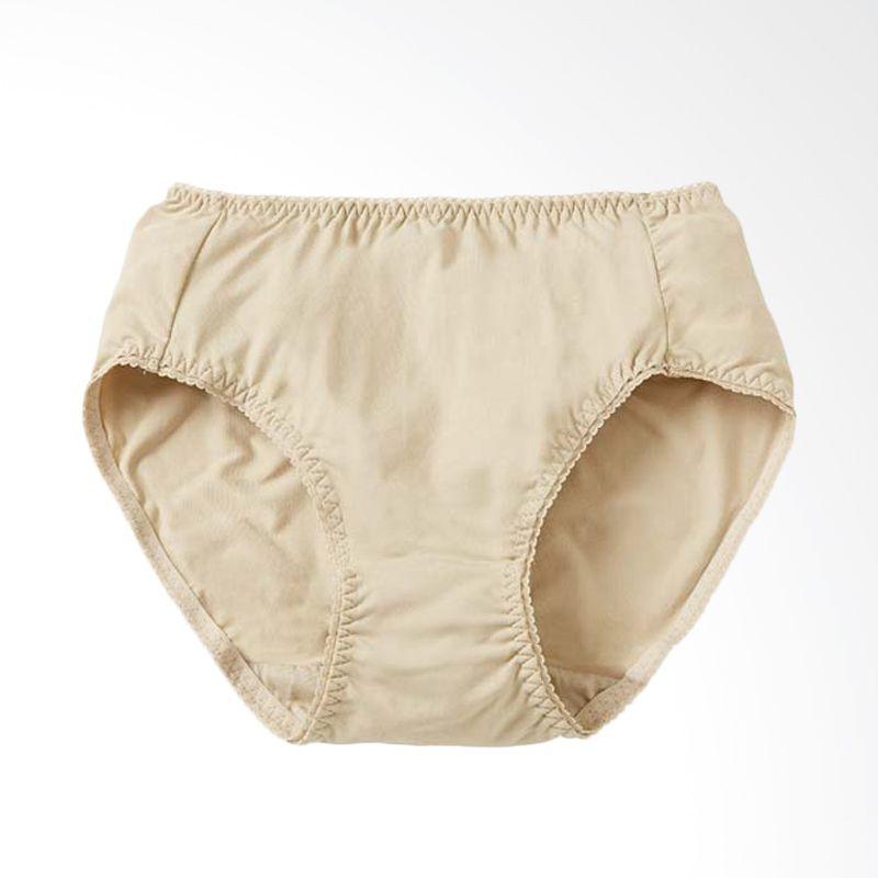 Mamaway Anti-bacterial Hipster Celana Dalam Ibu Hamil (2 Pack) Nude