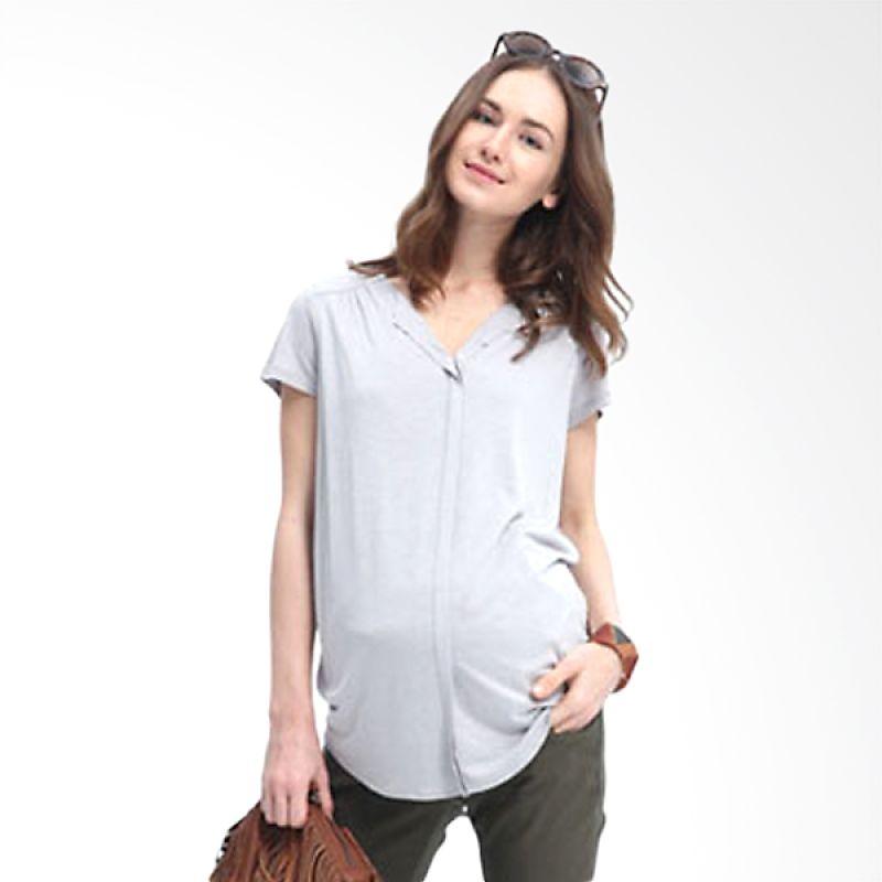 Mamaway Chiffon Grey Baju Hamil dan Menyusui